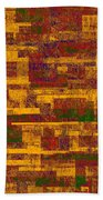0245 Abstract Thought Beach Towel