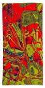 0477 Abstract Thought Beach Towel