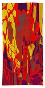 0656 Abstract Thought Beach Towel