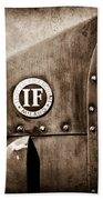 1913 Isotta Fraschini Tipo Im Emblem Beach Towel