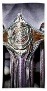 1933 Chrysler Sedan Grille Emblem Beach Towel