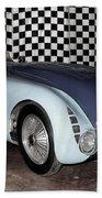 1936 Bugatti 57g Tank Beach Towel
