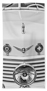 1937 Cord 812 Sc Convertible Phaeton Sedan Grille Emblems Beach Towel