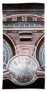 1959 Buick Lesabre Steering Wheel Beach Towel