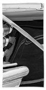 1959 Desoto Adventurer Convertible Tail Light Emblem Beach Towel