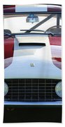 1959 Ferrari 250 Gt Lwb Berlinetta Tdf Beach Towel