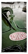 1965 Divco Milk Truck Hood Ornament Beach Towel