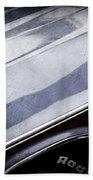 1970 Dodge Challenger Rt Convertible Emblems Beach Towel by Jill Reger