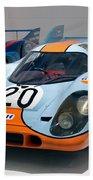 1970 Porsche 917 Kh Coupe Beach Towel