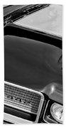 1972 Oldsmobile 442 Grille Emblem Beach Towel