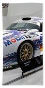 1998 Porsche 911 Gt1 Beach Towel