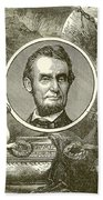 Abraham Lincoln Beach Towel by English School