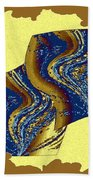 Abstract Fusion 177 Beach Towel