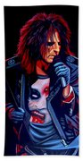 Alice Cooper  Beach Towel