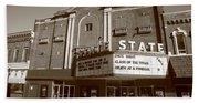 Alpena Michigan - State Theater Beach Towel