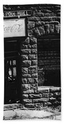 American Pool Hall Facade Version 1 Ghost Town Jerome Arizona 1968 Beach Towel