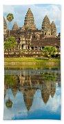 Angkor Wat - Cambodia Beach Towel