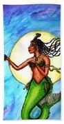 Arania Queen Of The Black Pearl Beach Towel
