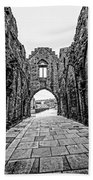 Arbroath Abbey Beach Towel