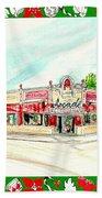 Arcade Restaurant Memphis Beach Towel