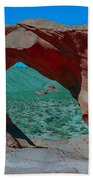 Arch Rock - Valley Of Fire State Park Beach Towel