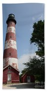 Assateague Lighthouse Beach Towel