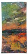 At Dawn Beach Towel