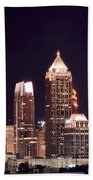 Atlanta From Above Beach Towel
