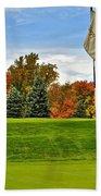 Autumn Golf Beach Towel