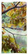 Autumn Leaves 1 Beach Towel