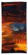 Awe Inspiring Sunset Beach Towel