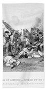 Battle Of Camden, 1780 Beach Towel