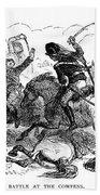 Battle Of Cowpens, 1781 Beach Towel