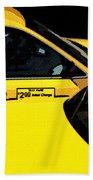 Big Yellow Taxis Beach Towel