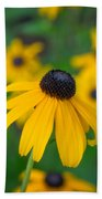 Blackeyed Susan Beach Towel