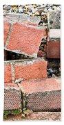 Bricks Beach Towel