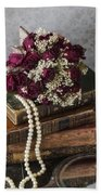 Bridal Bouquet Beach Towel