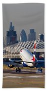 British Airways London Beach Towel