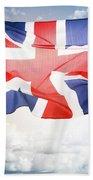 British Flag 3 Beach Towel