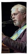 Canadian Folk Rocker Bruce Cockburn Beach Towel
