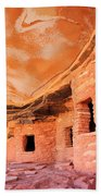 Canyon Ruins Beach Towel