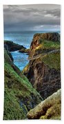Carrick-a-rede Rope Bridge Beach Towel