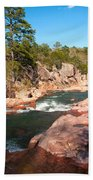 Castor River Shut Ins Beach Towel