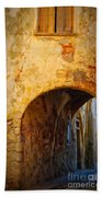 Chania Alley Beach Towel