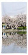 Cherry Blossoms In Tokyo Beach Towel