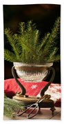 Christmas Decoration Beach Towel