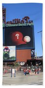Citizens Bank Park - Philadelphia Phillies Beach Towel by Frank Romeo