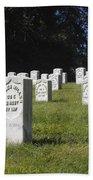 Civil War Dead At Arlington Beach Towel