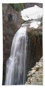 Clear Creek Falls Beach Towel