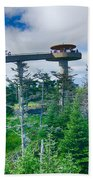Clingmans Dome - Great Smoky Mountains National Park Beach Towel
